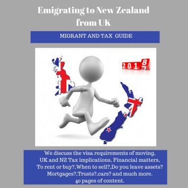 British Emigrating to NZ
