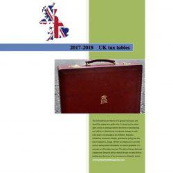uk tax tables