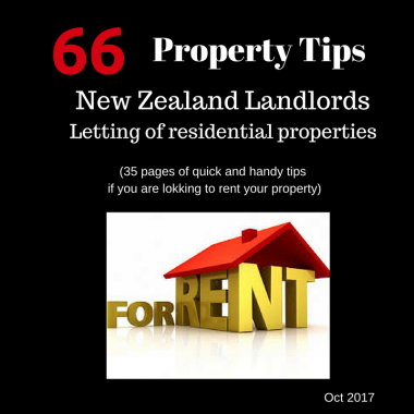 Property tips for NZ landlords