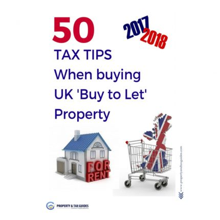Buy to let tax tips